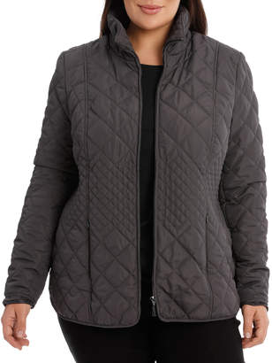 Basic Quilted Long Sleeve Jacket