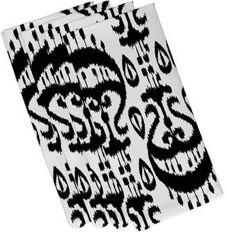 Mistana Bridgehampton Ikat Geometric Print Napkin