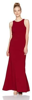 My Michelle Women's Open Back Ruffle Dress