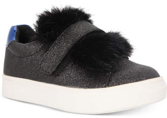 Nina Sneakers with Faux-Fur Trim, Toddler, Little Girls (4.5-3) & Big Girls (3.5-7) $49.99 thestylecure.com