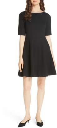 Kate Spade lace-up ponte dress