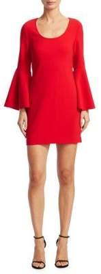 Elizabeth and James Philippa Bell-Sleeve Sheath Dress