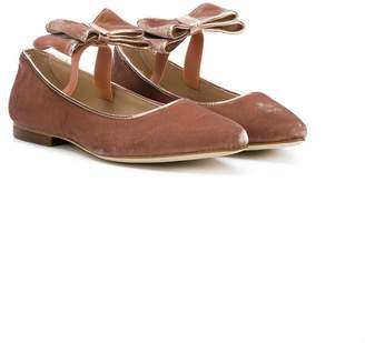 Florens bow detail ballerina shoes