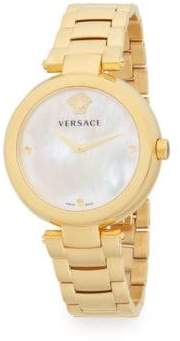 Versace Yellow Gold Plated Watch