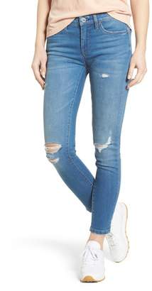 Blank NYC BLANKNYC Denim Ripped Ankle Skinny Jeans