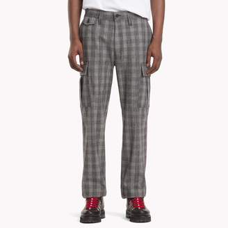 Tommy Hilfiger Check Cargo Trousers