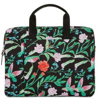 Kate Spade Jardin Large Laptop Case Commuter Bag