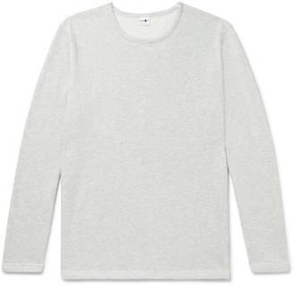 NN07 Georg Melange Loopback Cotton-Blend Jersey Sweatshirt
