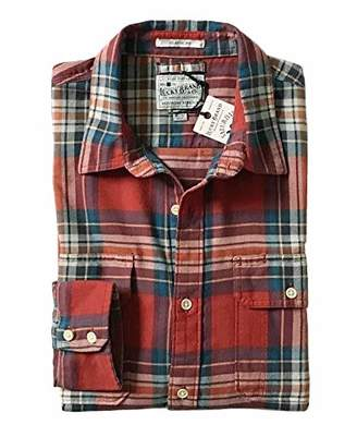 Lucky Brand Men's Mitered Workwear Button Up Shirt