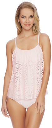 LUXE by Lisa Vogel Aphrodite Sway Tankini $118 thestylecure.com