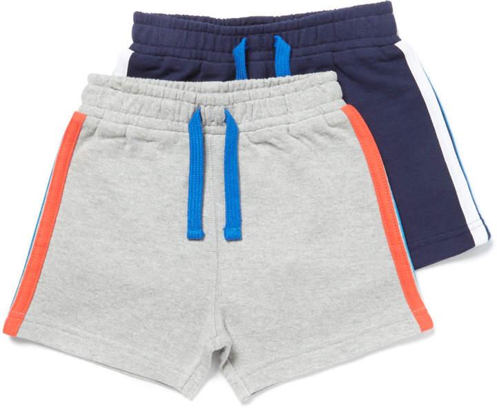 Tu Clothing 2 Pack Multicoloured Jersey Shorts