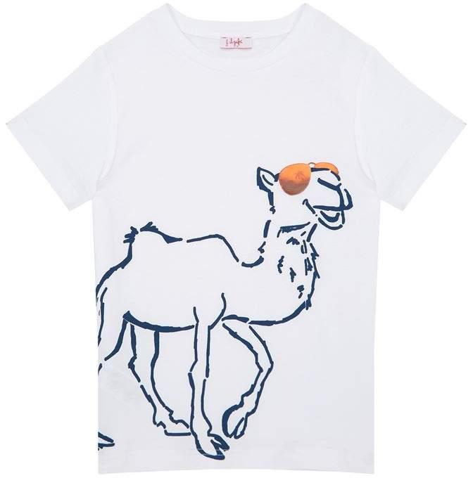 Camel Print T-Shirt