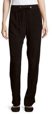 Sandro Pepa Elasticized Drawstring Waist Pants