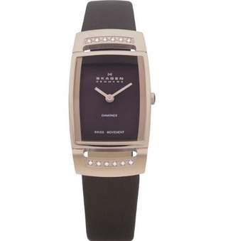 Skagen Swiss Black Label Mother-of-pearl Dial Women's watch SRLD