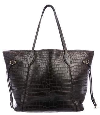 Louis Vuitton Crocodile Neverfull MM