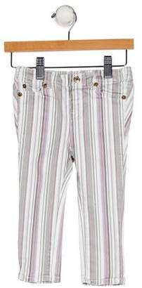 7 For All Mankind Girls' Striped Five Pockets Pants