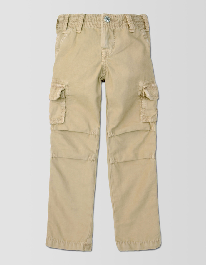 True Religion Boys Slim Anthony Big T Cargo Pant