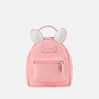 Grafea Women's Mini Zippy Mouse Backpack - Pink