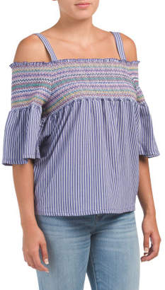 Smocked Baby Doll Top