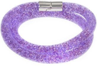 Swarovski Stardust Convertible Crystal Mesh Bracelet/Choker, Mauve, Medium $60 thestylecure.com