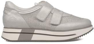 Alberto Guardiani Silver Sport Lady Slip On Sneakers