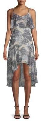 Ali & Jay Floral-Print Ruffled Dress