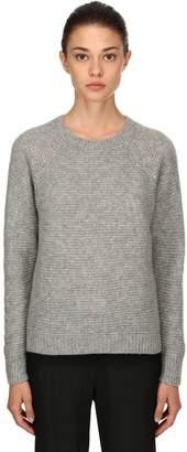 Max Mara Cashmere & Silk Rib Knit Sweater