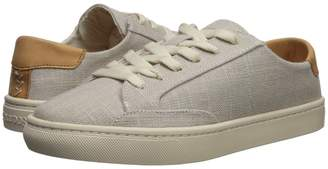 Soludos Ibiza Linen Lace-Up Sneaker Women's Lace up casual Shoes