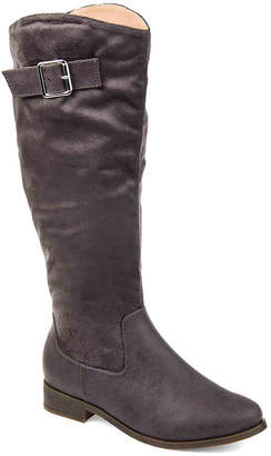 Journee Collection Frenchy Wide Calf Riding Boot - Women's