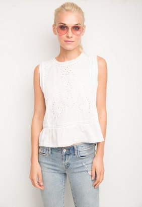 Generation Love Gracie Embroidered Sleeveless Top