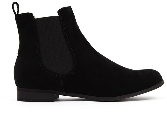 Cloggs Everyday Chelsea Boot - Womens - Black Suede
