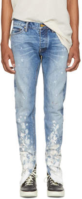 Fear Of God Indigo Selvedge Denim Painters Jeans