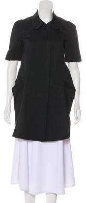 Marni Silk-Blend Short Sleeve Jacket