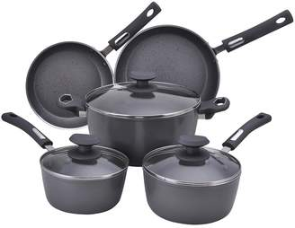 Hamilton Beach 8-pc. Aluminum Cookware Set - Gray