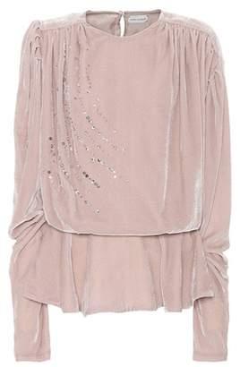 Magda Butrym Asuncion embellished blouse