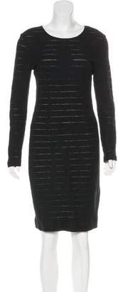 L'Agence Wool Knee-Length Dress
