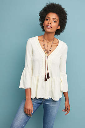Eri + Ali Fredonia Bell-Sleeved Top