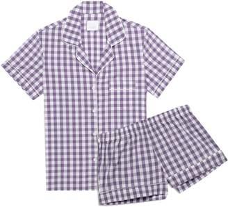 Three J NYC Eloise Polka-dot Cotton-poplin Pajama Set