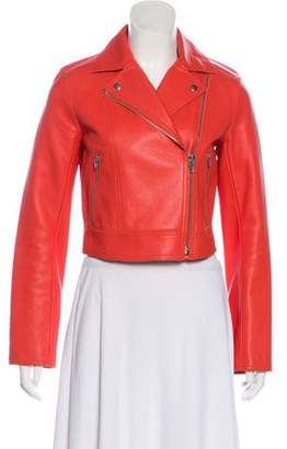 Alexander Wang Leather Moto Jacket
