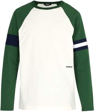 Calvin Klein Raglan-sleeve cotton-jersey T-shirt