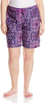 Kanu Surf Women's Plus-Size Bisma Boardshorts