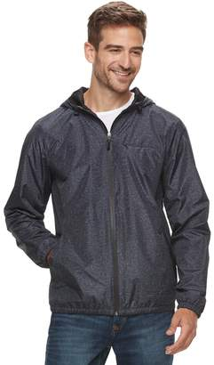 Marc Anthony Men's Lux Slim-Fit Hooded Rain Jacket