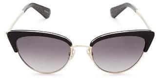 Kate Spade Women's Jahnam Cat Eye Sunglasses, 52mm