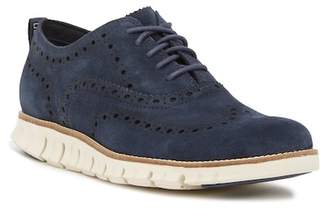 Cole Haan ZeroGrand Wingtip Suede Oxford II