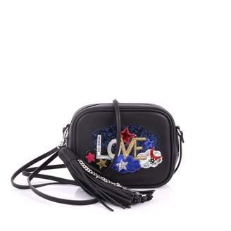 Saint Laurent Blogger Black Leather Handbag