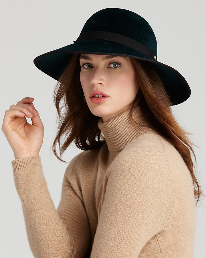 Helen Kaminski Barbara Wide Brim Felt Hat