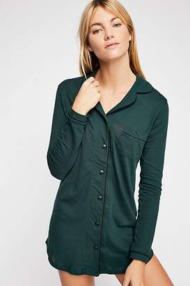 Only Hearts Piped Button Front Shirt
