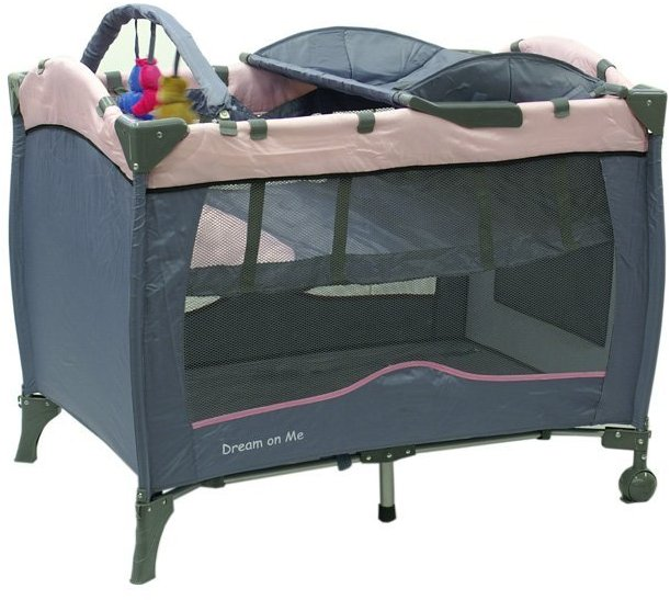 Dream On Me 2 Level Play Yard - Pink