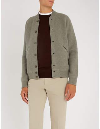 Ralph Lauren Purple Label Wool bomber jacket