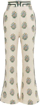 Zimmermann Verity Cropped Linen Pants